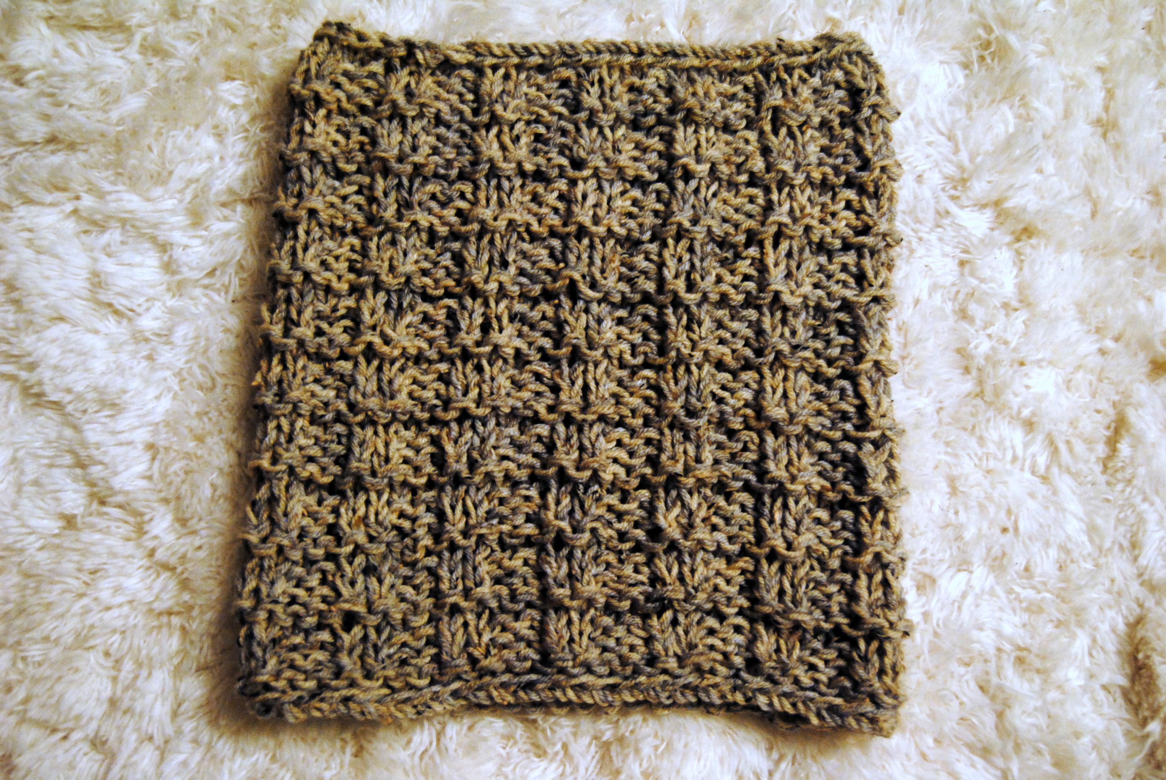 Knitting Stitches Waffle Stitch : Waffle Stitch Circle Scarf florenceitalia